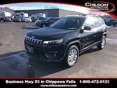 New 2019 Jeep Cherokee LATITUDE 4X4 Sport Utility 1C4PJMCX8KD288230 for sale near Eau Claire at Chilson Chrysler Dodge Jeep Ram FIAT