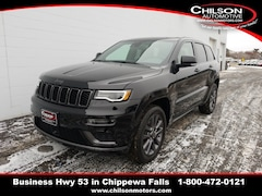 new 2019 Jeep Grand Cherokee HIGH ALTITUDE 4X4 Sport Utility 1C4RJFCG1KC537770 for sale near Eau Claire at Chilson Chrysler Dodge Jeep Ram FIAT