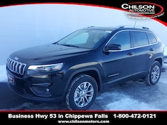 New 2019 Jeep Cherokee LATITUDE PLUS 4X4 Sport Utility 1C4PJMLX5KD394893 for sale near Eau Claire at Chilson Chrysler Dodge Jeep Ram FIAT