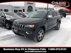 New 2019 Jeep Grand Cherokee LIMITED 4X4 Sport Utility 1C4RJFBG2KC574408 for sale near Eau Claire at Chilson Chrysler Dodge Jeep Ram FIAT