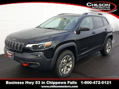 new 2020 Jeep Cherokee TRAILHAWK 4X4 Sport Utility 1C4PJMBX0LD514070 for sale near Eau Claire at Chilson Chrysler Dodge Jeep Ram FIAT