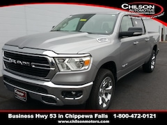new 2020 Ram 1500 BIG HORN CREW CAB 4X4 5'7 BOX Crew Cab 1C6SRFFT4LN133023 for sale near Eau Claire at Chilson Chrysler Dodge Jeep Ram FIAT