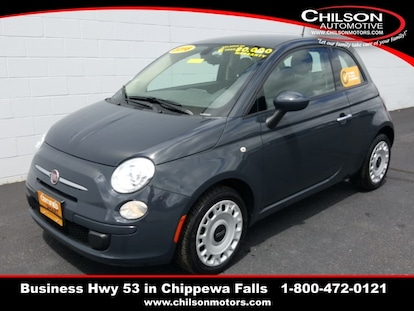 Fiat 500 Pop >> Certified Used 2016 Fiat 500 Pop For Sale In Chippewa Falls Wi Vin 3c3cffar7gt170515