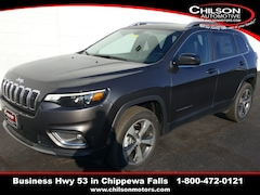 new 2020 Jeep Cherokee LIMITED 4X4 Sport Utility 1C4PJMDX8LD505324 for sale near Eau Claire at Chilson Chrysler Dodge Jeep Ram FIAT