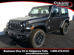 new 2019 Jeep Wrangler SPORT 4X4 Sport Utility 1C4GJXAG0KW649345 for sale near Eau Claire at Chilson Chrysler Dodge Jeep Ram FIAT