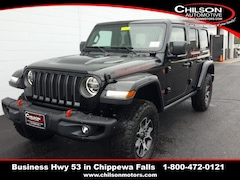 new 2020 Jeep Wrangler UNLIMITED RUBICON 4X4 Sport Utility 1C4HJXFN9LW123597 for sale near Eau Claire at Chilson Chrysler Dodge Jeep Ram FIAT