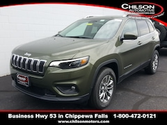 2020 Jeep Cherokee LATITUDE LUX 4X4 Sport Utility for sale at Chilson Chrysler Dodge Jeep near Eau Claire, WI