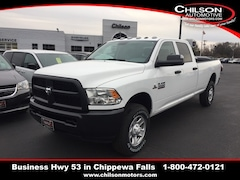 New 2018 Ram 3500 TRADESMAN CREW CAB 4X4 8' BOX Crew Cab for sale near Eau Claire at Chilson Chrysler Dodge Jeep Ram FIAT