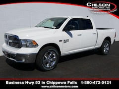 new 2019 Ram 1500 Classic BIG HORN CREW CAB 4X4 6'4 BOX Crew Cab 1C6RR7TT3KS637538 for sale near Eau Claire at Chilson Chrysler Dodge Jeep Ram FIAT