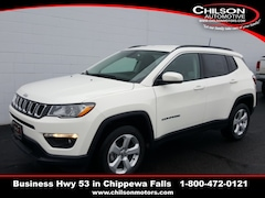 new 2020 Jeep Compass LATITUDE 4X4 Sport Utility 3C4NJDBB7LT131748 for sale near Eau Claire at Chilson Chrysler Dodge Jeep Ram FIAT