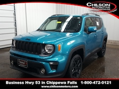 new 2020 Jeep Renegade ALTITUDE 4X4 Sport Utility ZACNJBBB2LPL14936 for sale near Eau Claire at Chilson Chrysler Dodge Jeep Ram FIAT