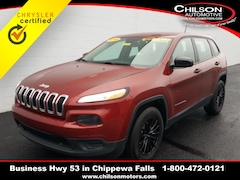2016 Jeep Cherokee Sport SUV for sale at Chilson Chrysler Dodge Jeep near Eau Claire, WI
