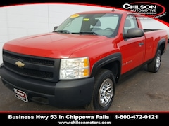 Bargain Used 2008 Chevrolet Silverado 1500 Work Truck Standard Cab 1GCEC14CX8Z281495 for Sale near Chippewa Falls in Cadott, WI