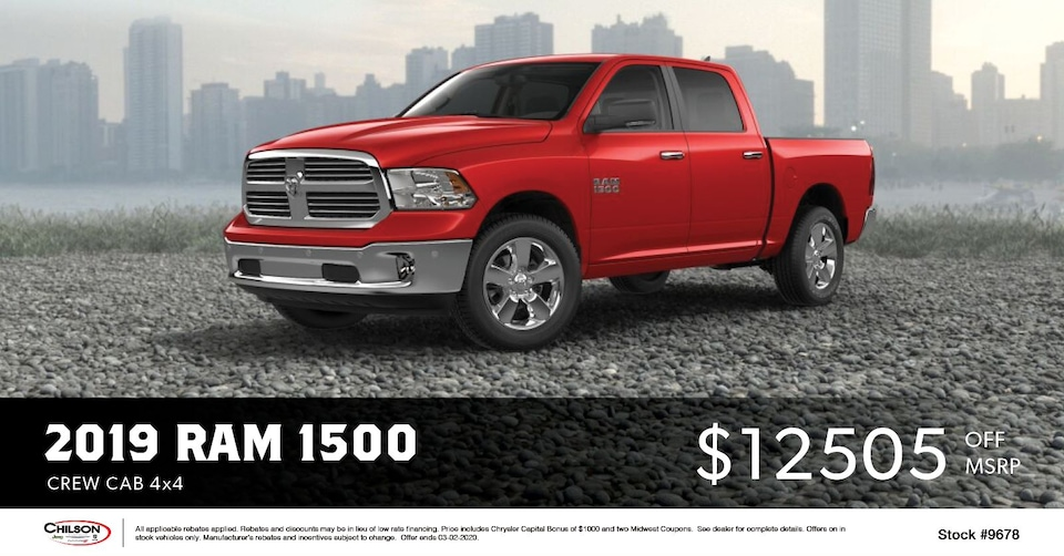 Ram 1500 Discount Special