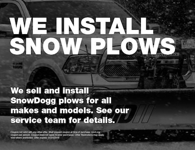 We Sell Snow Plows