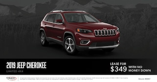 October Jeep Cherokee Special Lease