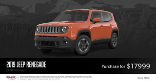 October Jeep Renegade Special Price