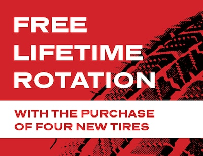 Tire and Rotation Special
