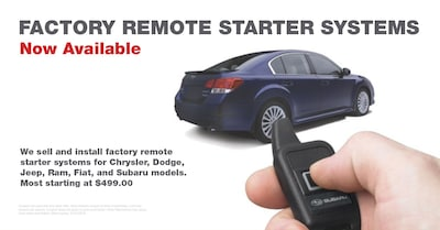 Vehicle Remote Starters
