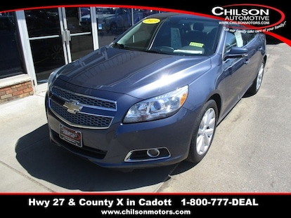 Used 2013 Chevrolet Malibu For Sale at Chilson Automotive Family of
