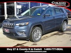 New 2020 Jeep Cherokee LATITUDE PLUS 4X4 Sport Utility 1C4PJMLX0LD608366 7074 for sale near Chippewa Falls, WI