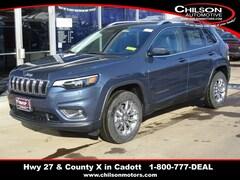 New 2020 Jeep Cherokee LATITUDE PLUS 4X4 Sport Utility for sale near Chippewa Falls, WI