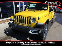 New 2019 Jeep Wrangler UNLIMITED SAHARA 4X4 Sport Utility for sale near Chippewa Falls, WI
