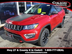 New 2020 Jeep Compass TRAILHAWK 4X4 Sport Utility for sale near Chippewa Falls, WI