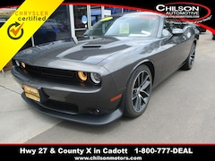 Certified 2017 Dodge Challenger R/T Scat Pack 392 Cadott Coupe 2C3CDZFJ0HH507370 for sale in Cadott, WI at Chilson's Corner Motors of Cadott