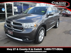 Bargain Used 2013 Dodge Durango SXT SUV 1C4RDJAG2DC695843 for Sale near Chippewa Falls in Cadott, WI
