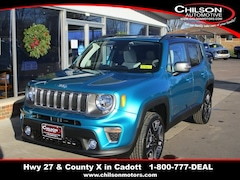 New 2021 Jeep Renegade LIMITED 4X4 Sport Utility for sale near Chippewa Falls, WI