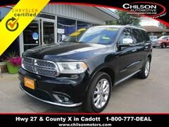 Certified 2019 Dodge Durango Citadel SUV 1C4RDJEG7KC792835 for sale in Cadott, WI at Chilson's Corner Motors of Cadott
