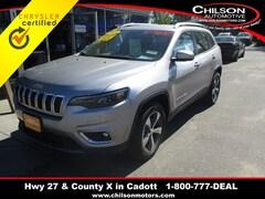 Certified 2019 Jeep Cherokee Limited SUV 1C4PJMDN2KD179999 for sale in Cadott, WI at Chilson's Corner Motors of Cadott