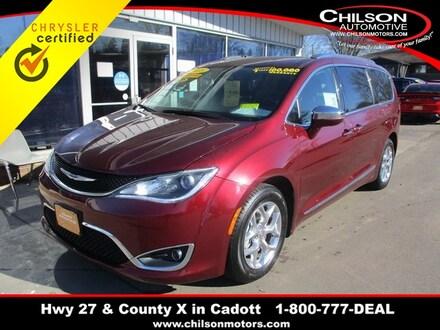2018 Chrysler Pacifica Limited Minivan/Van 2C4RC1GG6JR320633