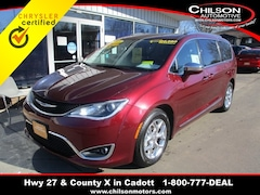 Certified 2018 Chrysler Pacifica Limited Minivan/Van 2C4RC1GG6JR320633 for sale in Cadott, WI at Chilson's Corner Motors of Cadott