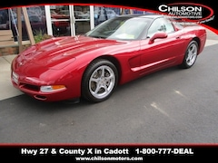 2002 Chevrolet Corvette Base Coupe 1G1YY22G825121911