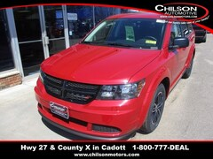 New 2018 Dodge Journey SE Sport Utility 3C4PDCAB2JT527384 for sale near Chippewa Falls, WI