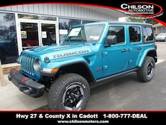 New 2020 Jeep Wrangler UNLIMITED RUBICON 4X4 Sport Utility for sale near Chippewa Falls, WI