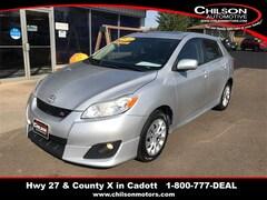 Bargain Used 2010 Toyota Matrix S Hatchback 2T1KE4EE8AC038850 for Sale near Chippewa Falls in Cadott, WI
