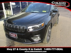 New 2019 Jeep Cherokee HIGH ALTITUDE 4X4 Sport Utility 1C4PJMDX4KD362855 6601 for sale near Chippewa Falls, WI