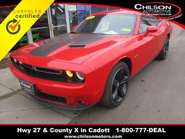 2016 Dodge Challenger R/T Coupe 2C3CDZBT1GH176644