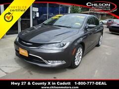 2015 Chrysler 200 C Sedan 1C3CCCEG0FN553470
