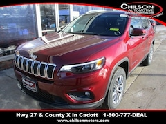 New 2020 Jeep Cherokee LATITUDE PLUS 4X4 Sport Utility for sale near Chippewa Falls, WI