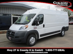 New 2018 Ram ProMaster 3500 High Roof Van Extended Cargo Van 3C6URVJGXJE109405 for sale near Chippewa Falls, WI