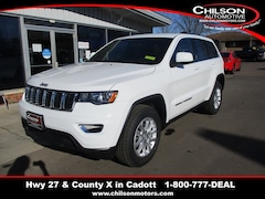 New 2021 Jeep Grand Cherokee LAREDO X 4X4 Sport Utility for sale near Chippewa Falls, WI