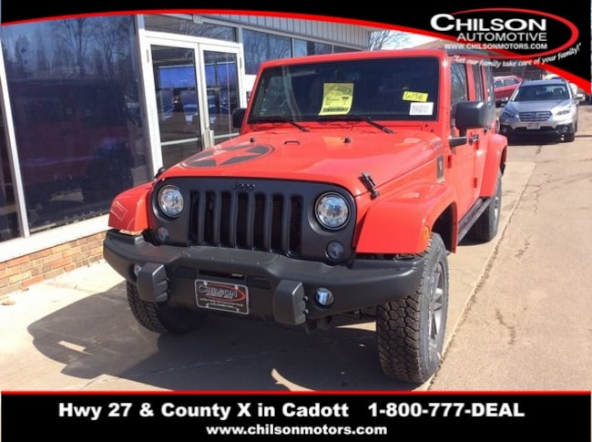 New 2018 Jeep Wrangler Unlimited WRANGLER JK UNLIMITED FREEDOM EDITION 4X4 Sport Utility near Chippewa Falls, WI
