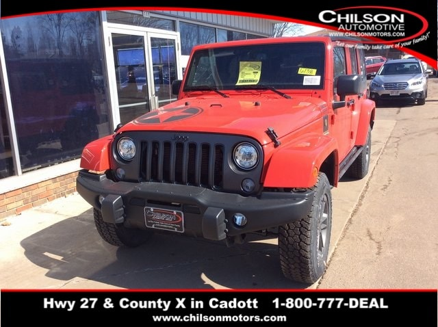 New 2018 Jeep Wrangler Unlimited WRANGLER JK UNLIMITED FREEDOM EDITION 4X4  Sport Utility Near Chippewa Falls