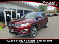New 2021 Jeep Compass LIMITED 4X4 Sport Utility for sale near Chippewa Falls, WI