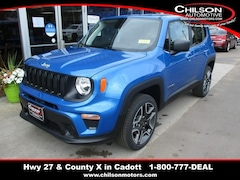 New 2020 Jeep Renegade JEEPSTER 4X4 Sport Utility for sale near Chippewa Falls, WI