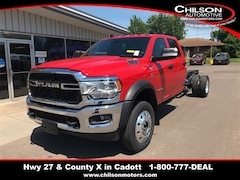 New 2021 Ram 5500 Chassis Cab 5500 TRADESMAN CHASSIS CREW CAB 4X4 84 CA Crew Cab for sale in Cadott, WI